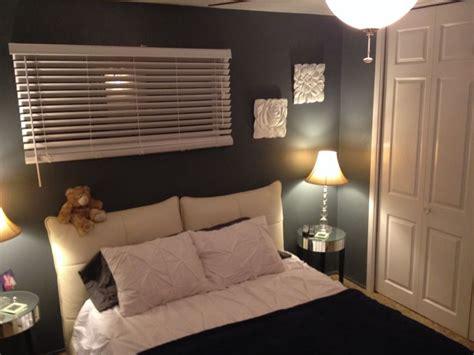 my master bedroom the color is lowe s valspar satin