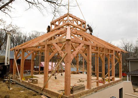Timber Frame Garage/studio In Berwyn, Pa