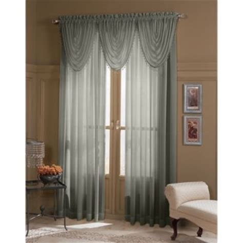 sears semi sheer curtains semi sheer textured window panel 63in by sears
