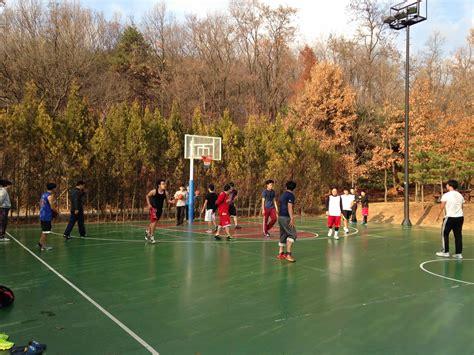jeongbalsan park play basketball  seoul stop