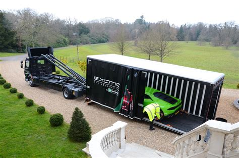 Luxury Car Transporters For Exotic Rentals