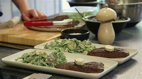emissions de cuisine tv la cuisine par arnaud marchand bavette de bœuf et salade