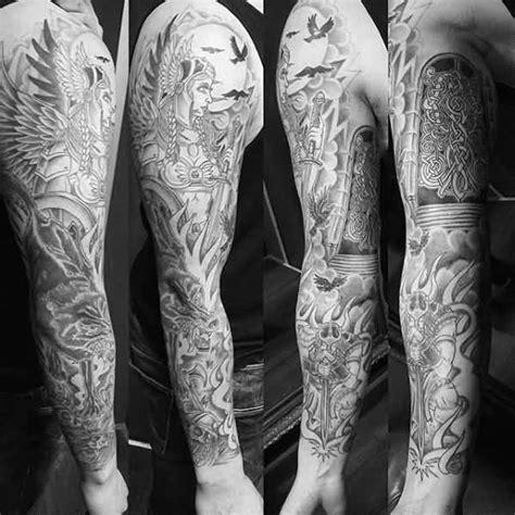 traditional valkyrie tattoo ideas collections golfiancom