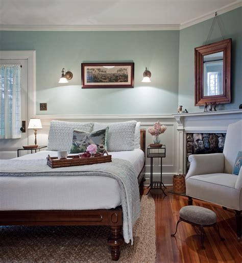 guest bedroom guest room farmhouse bedroom boston by Farmhouse