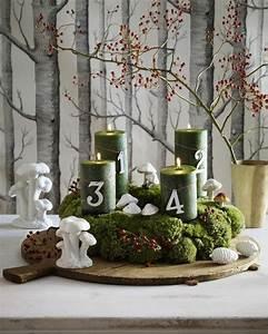 Ausgefallene Weihnachtsdeko Aussen : 1001 adventskranz ideen und bilder f r ihre weihnachtsdeko ~ Markanthonyermac.com Haus und Dekorationen