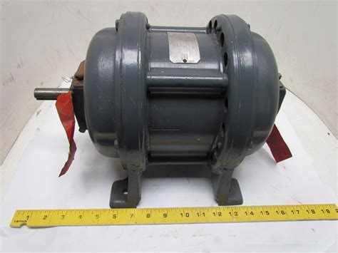 Electric Motor Frame by General Electric 5k204a1 3ph 1hp 110v Vintage Motor 1720