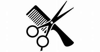 Haircut Clipart Hair Salon Cut Scissors Transparent