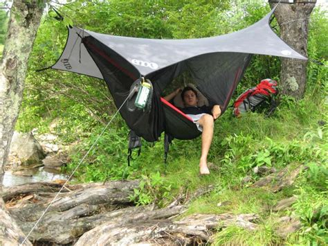 Sleeping In An Eno Hammock by Gift Of Adventuring Pack And Paddle