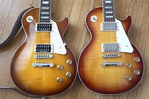 Comparing 2011 And 2015 Les Paul Traditionals
