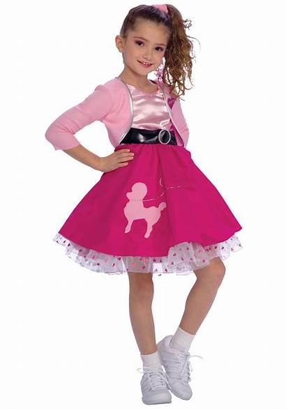 50s Costume Poodle Skirt Costumes 1950s Child