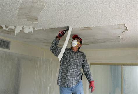 removing  textured ceiling hometalk