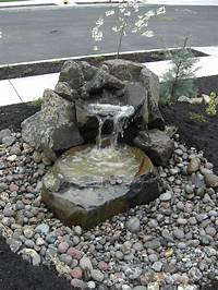 small water features Garden Design with Small Water Fountains ^_^ Small Front ...