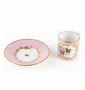 Tasse Et Sous Tasse : paire tasse caf et sous tasse rose ephrussi ~ Teatrodelosmanantiales.com Idées de Décoration