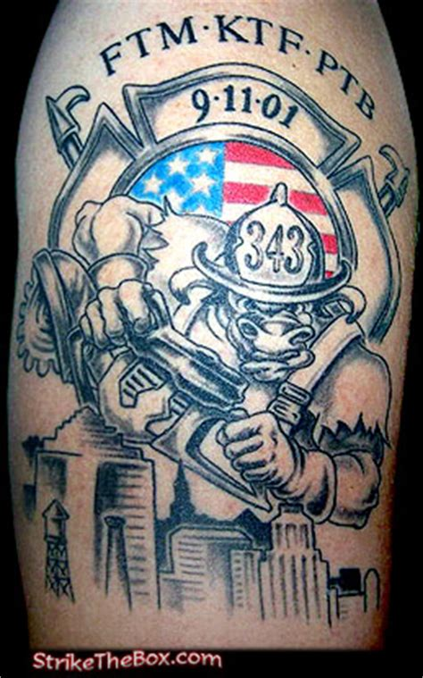 firefighter tattoos page
