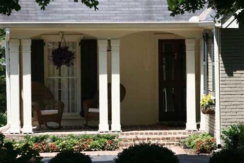 Narrow Front Porch Idea