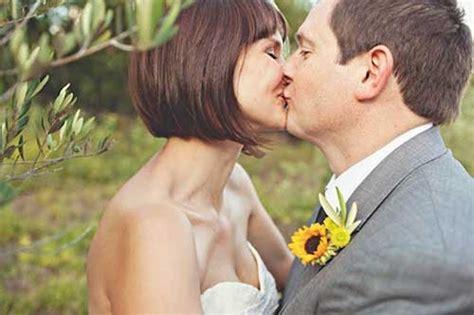 25 Short Hair Bridal Styles