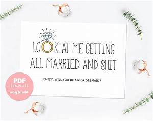 Will you be my bridesmaid card template templates ideas for Will you be my bridesmaid letter template