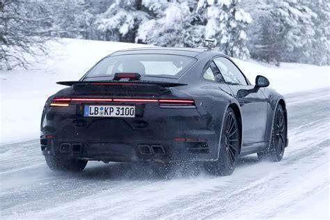2020 Porsche 911 Turbo Spy Shots  Type 992 Gen Gtspirit