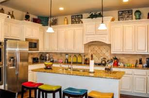 top of cabinet decor how to decorate the top of kitchen cabinets home design