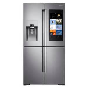 ideas for a kitchen shop samsung family hub 22 1 cu ft 4 door counter depth