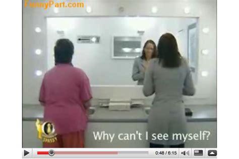 Bathroom Mirror Prank by Cool German Washroom Mirror Prank