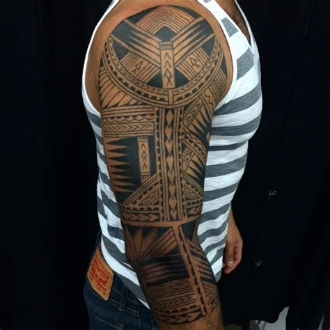 mysterious traditional tribal tattoos  men