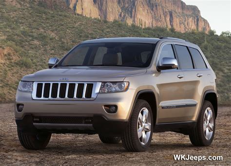 2011 Grand Cherokee Features