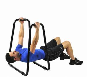 New Ultimate Body Press Dip Stand Chest Exercise Strength Muscle Fitness Knee