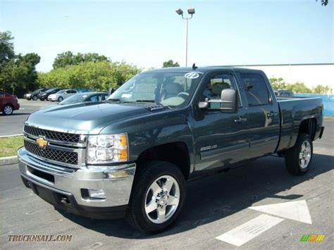 2011 Chevrolet Silverado 2500hd Ltz Crew Cab 4x4 In Blue