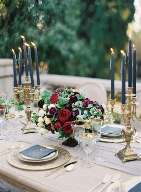 burgundy  navy wedding color ideas deer pearl