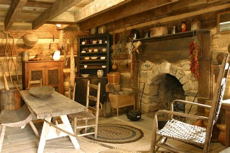 Ideas To Decorate Kitchen Walls - arched stone fireplace in an old log cabin handmade houses with noah bradley