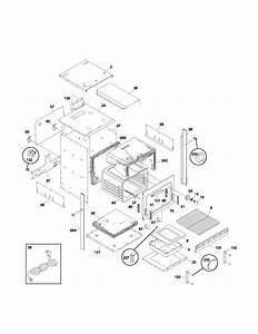 Frigidaire Fgb24l2aba Gas Wall Oven Parts