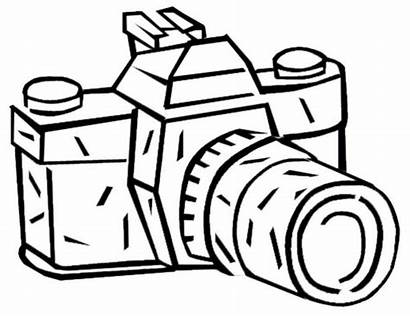 Coloring Camara Camera Kamera Malvorlage Imprimibles Photocall
