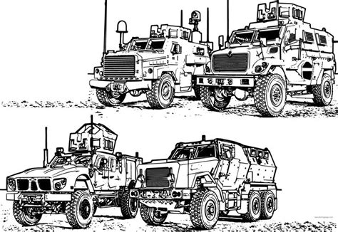mrap army military vehicle coloring page mixed coloring pages cars coloring pages military