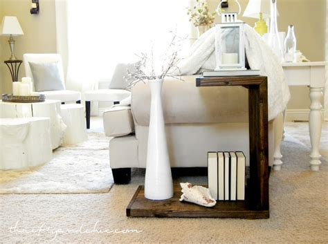 diy wood end table diy end tables that look stylish and unique
