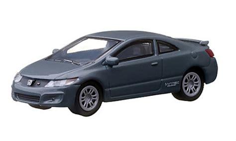 si e auto 1 honda civic si gray 2011 greenlight diecast model car 1 64