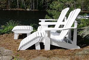 Adirondack or Muskoka Chair Footstool - The Barley Harvest