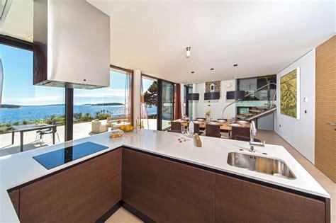 cuisine de reve maison de rêve en bord de mer