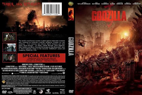 godzilla 1998 cover godzilla 2014 custom cover1 movie dvd custom covers