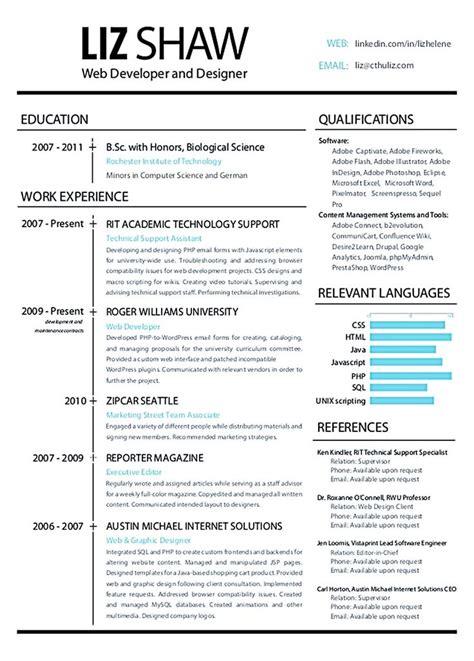 Designer Resume by Web Designer Resume Exles Web Designer Resume Is A