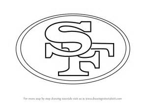 Printable New England Patriots Pumpkin Stencil by Learn How To Draw San Francisco 49ers Logo Nfl Step By