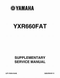 Manual For The 660 Yamaha Rhino  U0026 39 04-07 By Zach