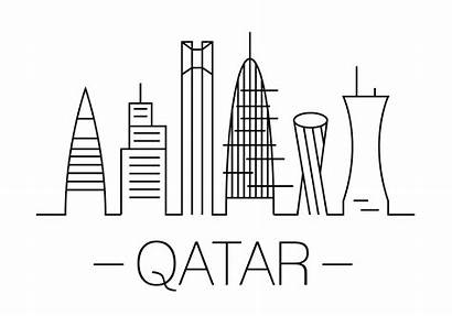 Qatar Vector Illustration Clipart Vecteezy Vectors System