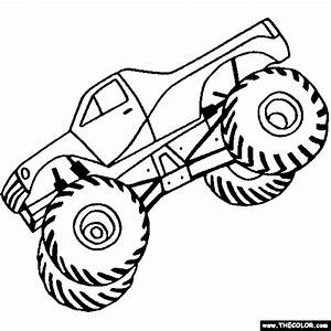 Monster Truck Clipart Black And White Free 2 WikiClipArt