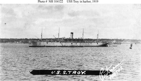 hyper bureau brest usn ships uss troy id 1614 1919