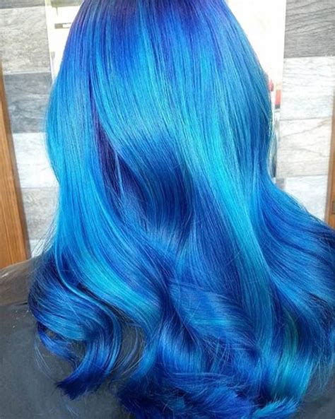 41 Bold And Beautiful Blue Ombre Hair Color Ideas Stayglam