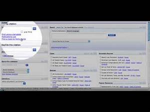 Finding Your Case Using Westlaw And Lexisnexis Youtube