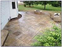 excellent patio floor design ideas Excellent Stamped Concrete Patio Design Ideas - Patio ...