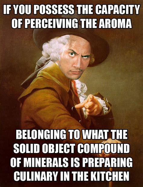 Old English Rap Meme - the archaic rock joseph ducreux archaic rap know your meme