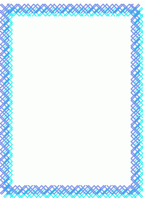 rahmen kreuze blau ausmalbild malvorlage rahmen